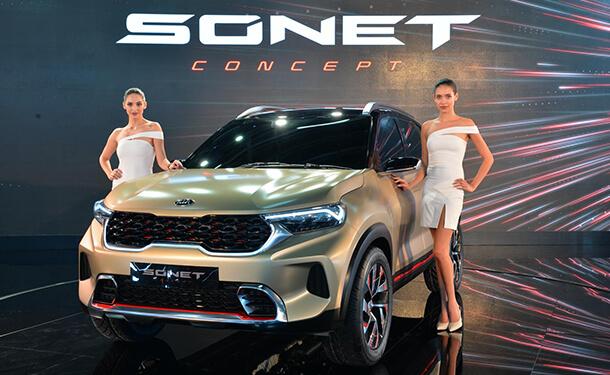 سياره كيا سونيت الجديد