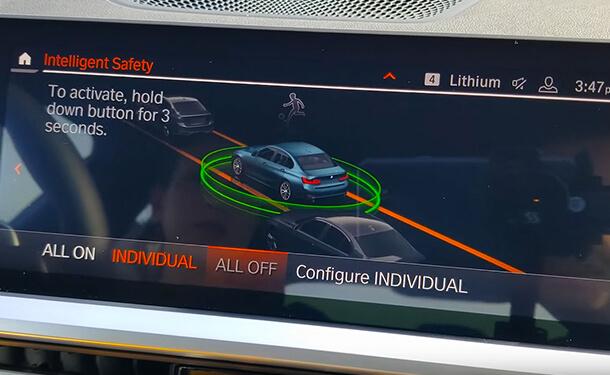 أنظمة الأمان الذكية بسيارات BMW