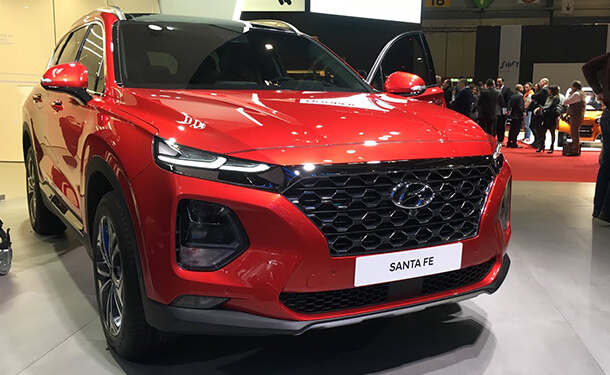 سيارة هيونداي سانتا في 2019 بمعرض جنيف 2018