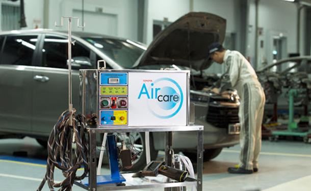 تويوتا مصر تقدم خدمة اير كير لتنقية تكييف هواء سياراتها من البكتيريا
