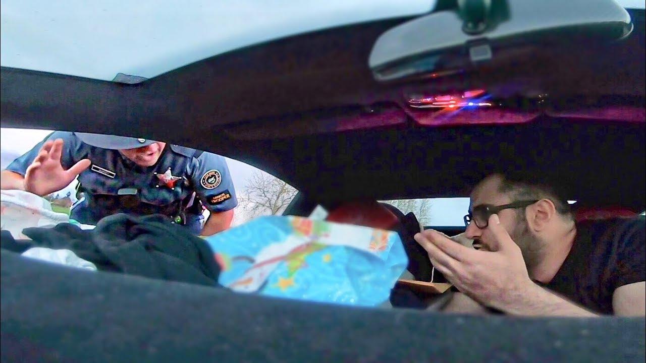 لامبورجيني-دبي -شرطي- أمريكي-قواعد-المرور