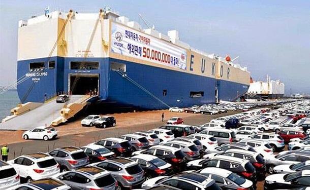 سيارات-ميناء-مؤتمر-شركة-NCG