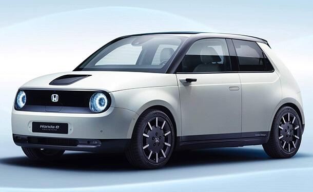 سياره-هوندا-بيضا-كهربائيه-جديد-خاصه