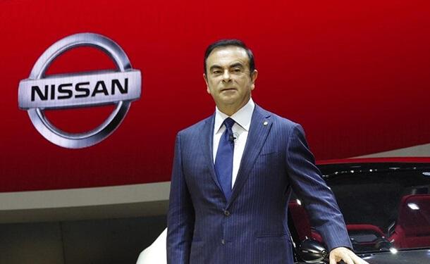 رجل-رئيس-سيارات-نيسان-كارلوس-غصن-لوجو-نيسان