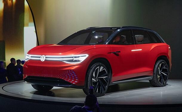 سياره-فولكس-فاجن-الالمانيه-جديد-احمر