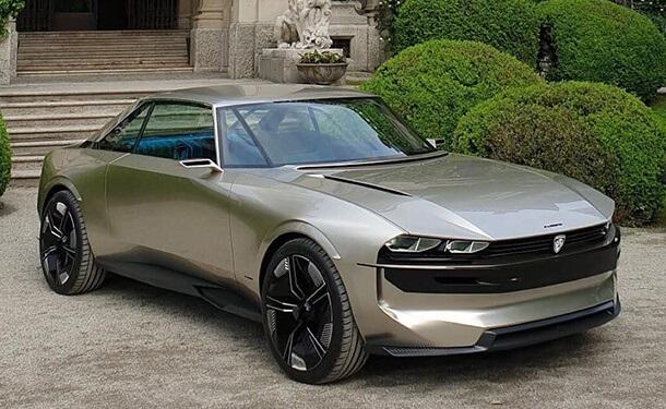 نموذج بيجو e-Legend الكهربائيي ذاتي القيادة