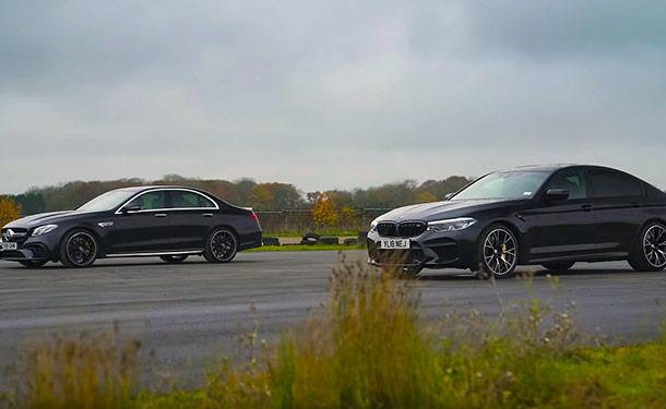 مرسيدس-AMG أم M5 من BMW