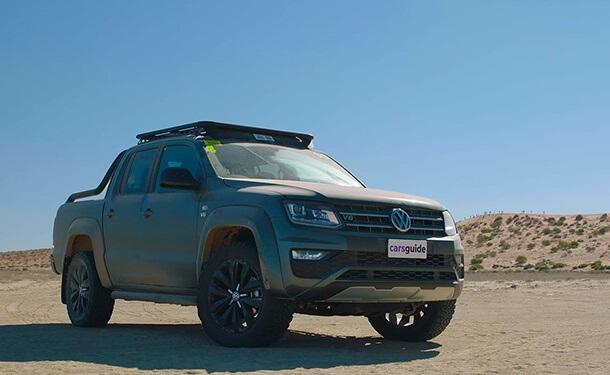 تجربة قيادة شاحنة فولكس فاجن أماروك 2020