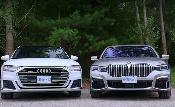 أودي A8  او BMW